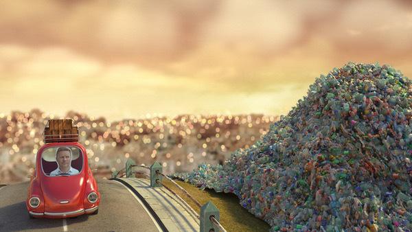 riciclo della plastica