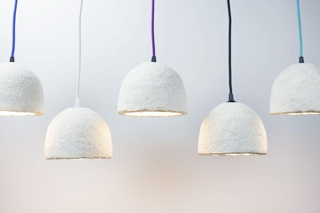 Materiali sostenibili: l'interessante progetto delle Grow Lamps
