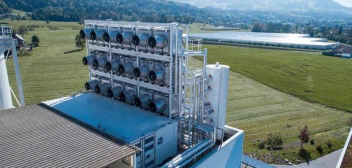 Tecnologie aspira carbonio