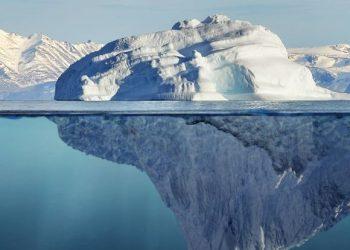 distaccamento di un iceberg