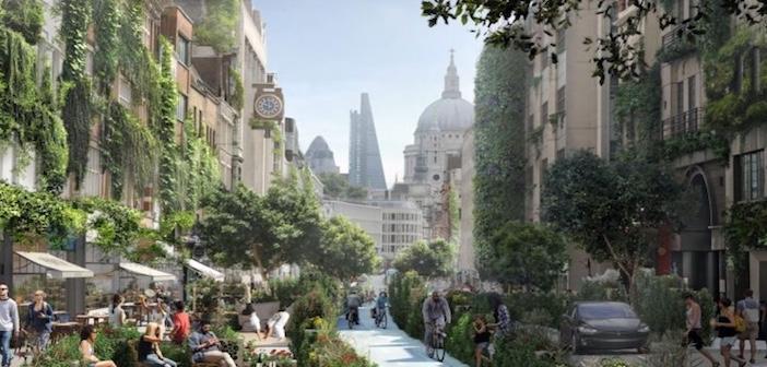 Quartiere verde la londra del futuro ricoperta di for Case ricoperte di edera
