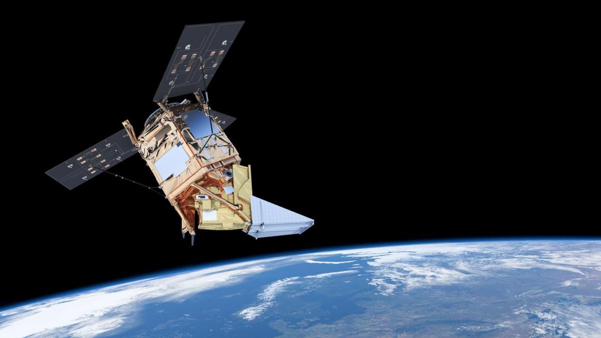 satellite per il controllo dell'inquinamento
