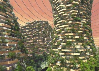 foreste verticali per marte