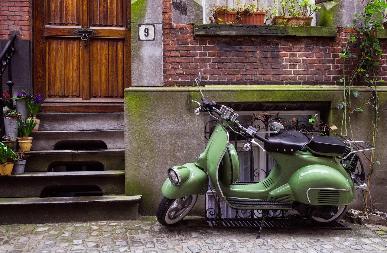 vespa green