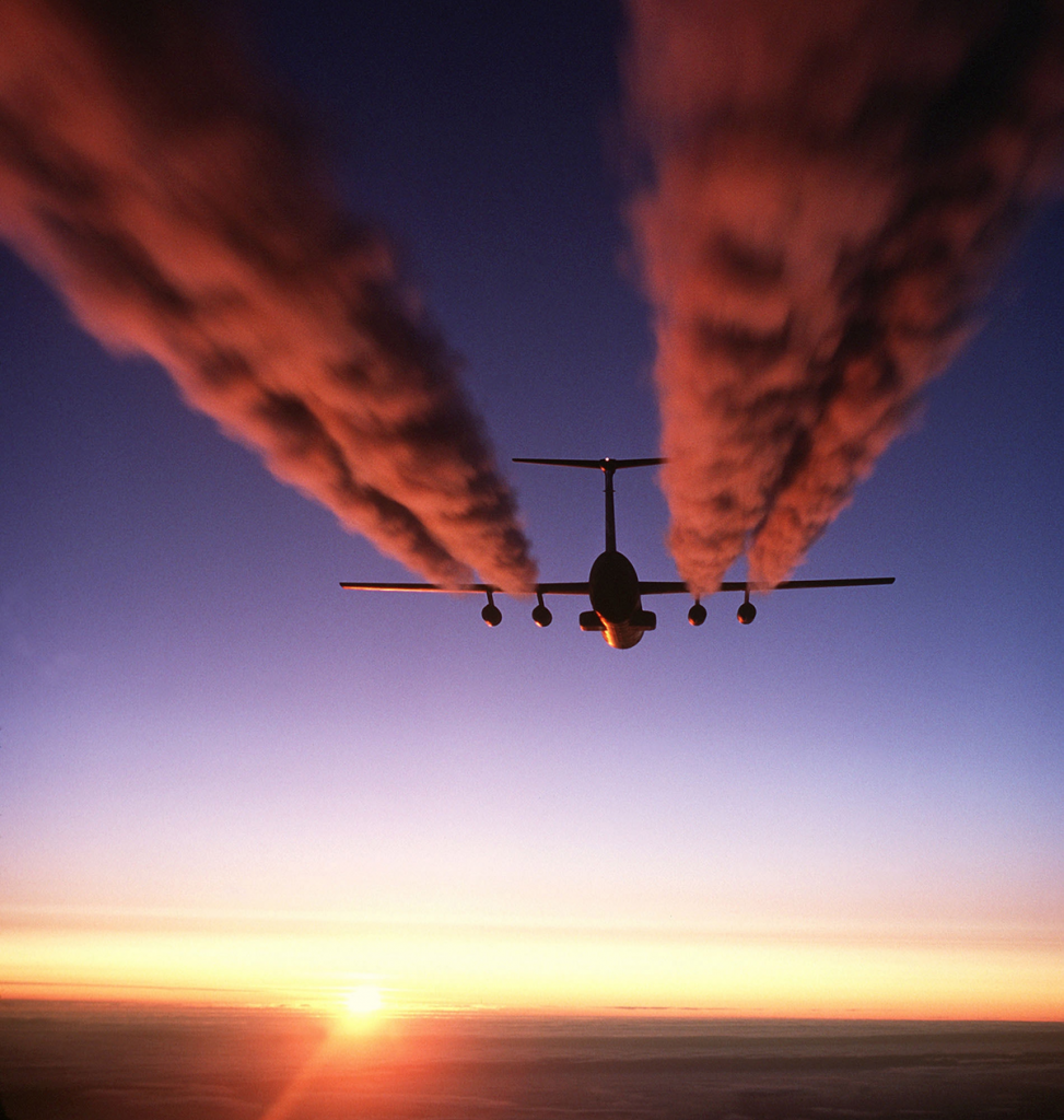Inquinamento dei voli aerei