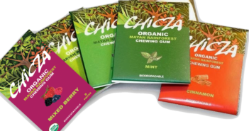 chewing-gum biodegradabile