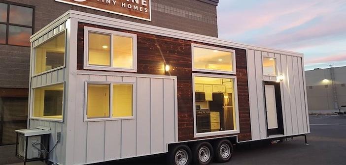 Mini case sostenibili una nuova tiny house alimentata for Mini case prefabbricate