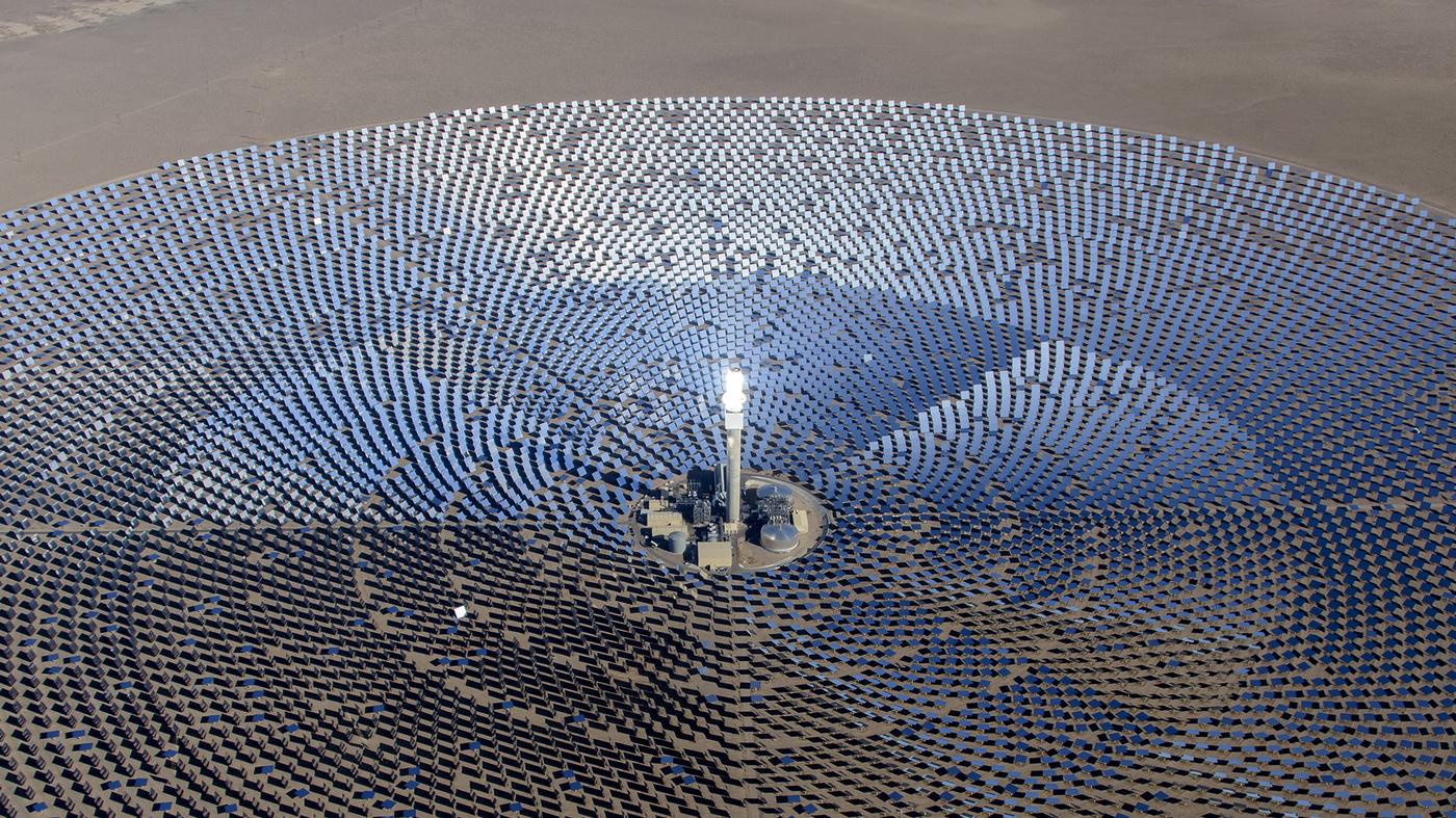 centrale solare a concentrazione