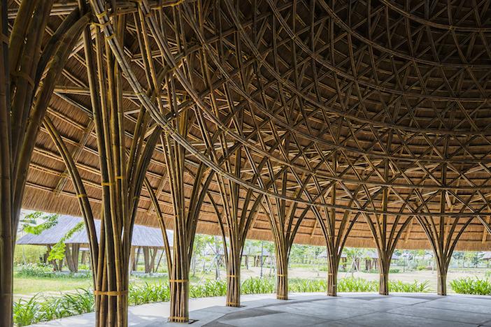 costruire in bamboo