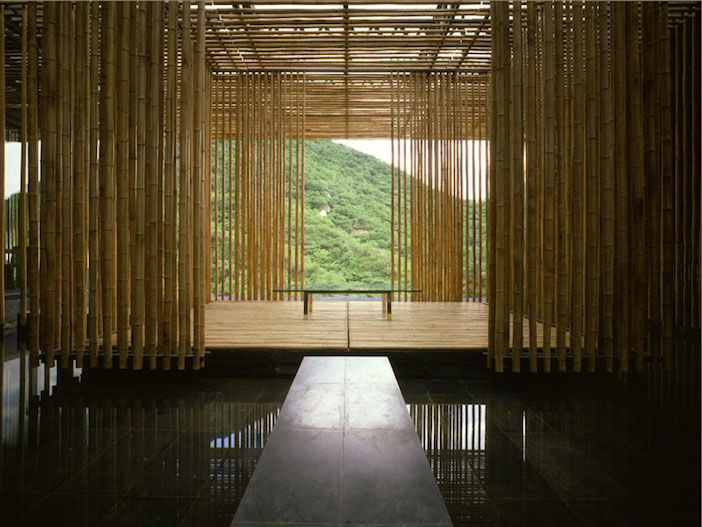 costruire in bamboo