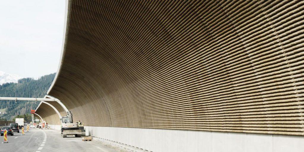 barriere antirumore © Reider Group (foto: https://futurism.com/future-noise-pollution/)