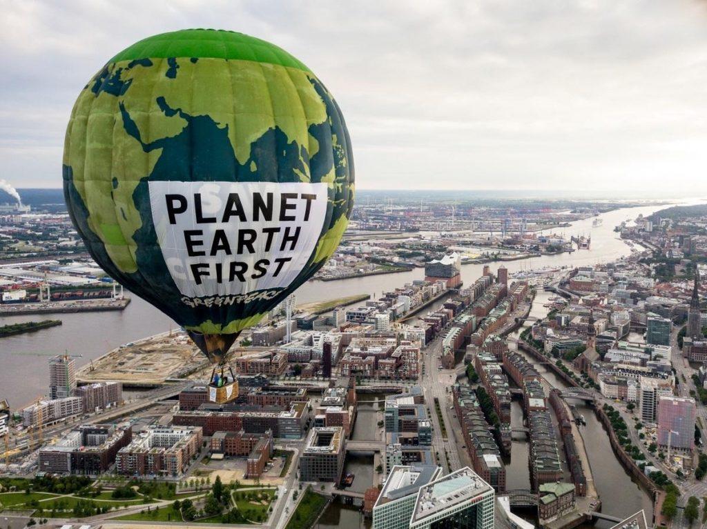 Le azioni di Greenpeace che hanno caratterizzato il 2017