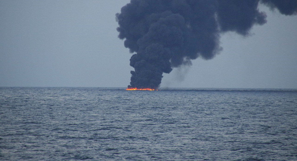 Petrolio in mare