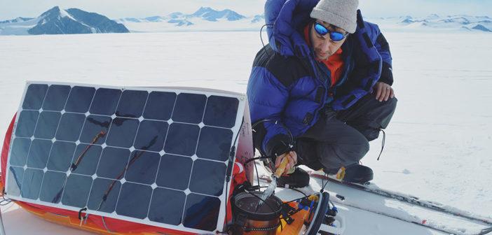 Polo Sud con le energie rinnovabili