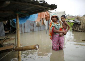 inondazione Asia, Copyright: Abir Abdullah EPA (https://theconversation.com)