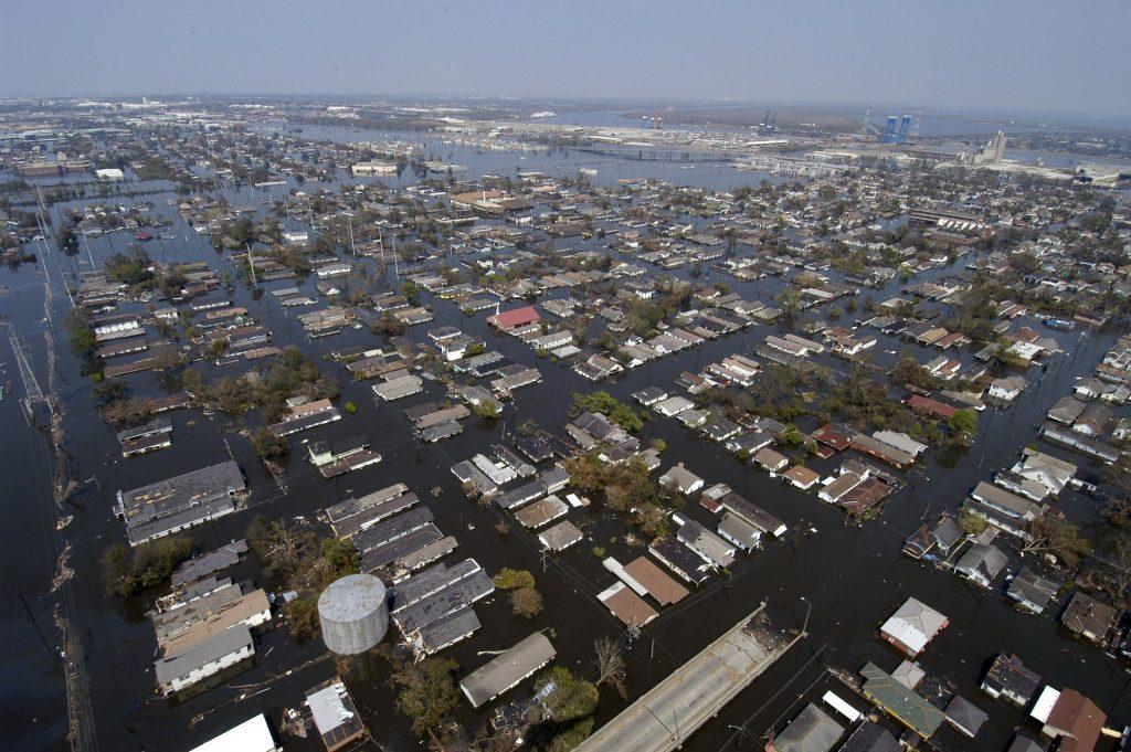 Giustizia climatica: danni dell'uragano Katrina New Orleans (https://pixabay.com/)