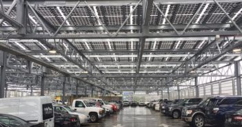 pannelli solari coperture parcheggi