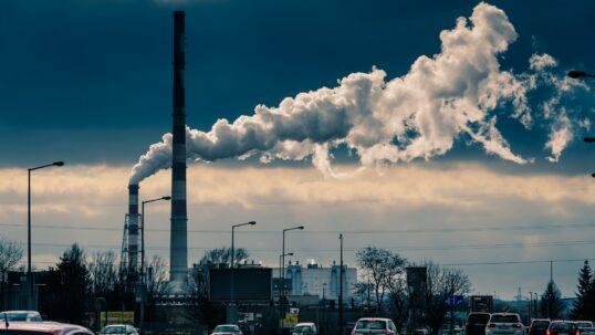 dispositivo che purifica l'aria inquinata